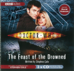 "Doctor Who ""The Feast of the Drowned"" (COVER ONLY) signed by Stephen Cole 2406"